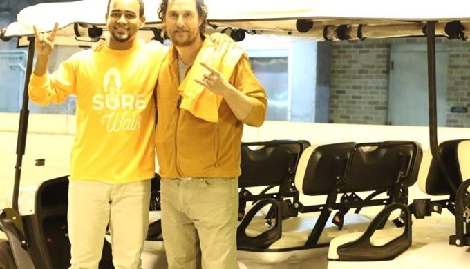 A Ride to Remember: Matthew McConaughey Volunteers for SURE Walk
