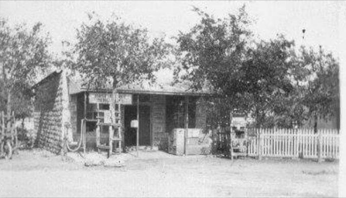 Bergheim General Store historic photo