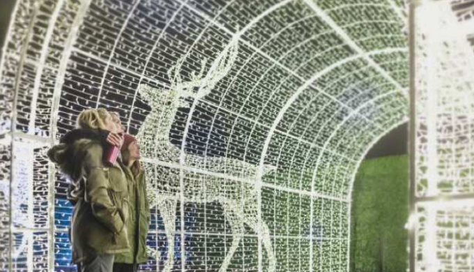 World's Largest Christmas Light Maze & Market Scheduled for Arlington