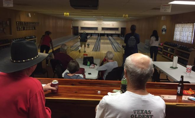 Fischer Bowling Hall Has Been the Home of 9-Pin Fun in the Texas Hill Country for Over a Century