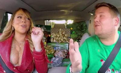 Mariah Tops Christmas 'Carpool Karaoke' With James Corden