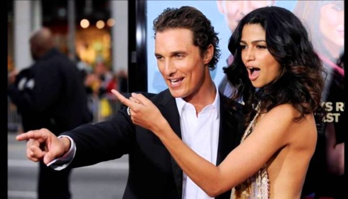 Matthew McConaughey Attends Unveiling of RH West Palm
