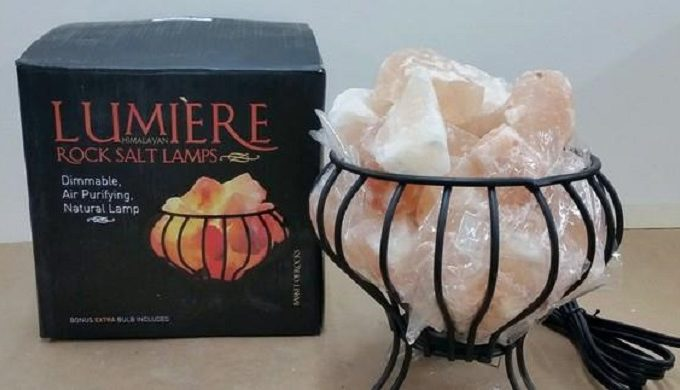 Salt Lamps Catching Fire : Consumer Product Safety Commission Issues Salt Lamp Recall