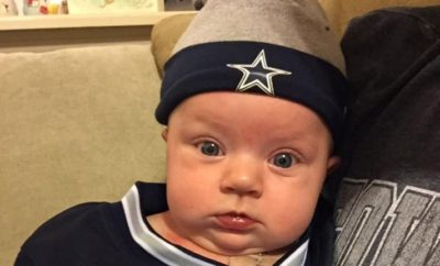 Texas Baby Soothed Only By the Sounds of Her Beloved Cowboys