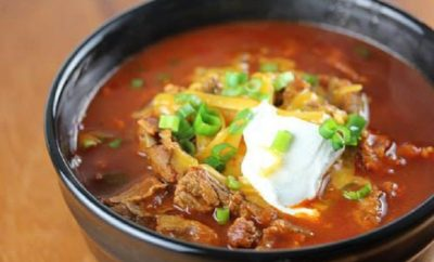 Texas Chili: You Might Say it's Love at First Bite