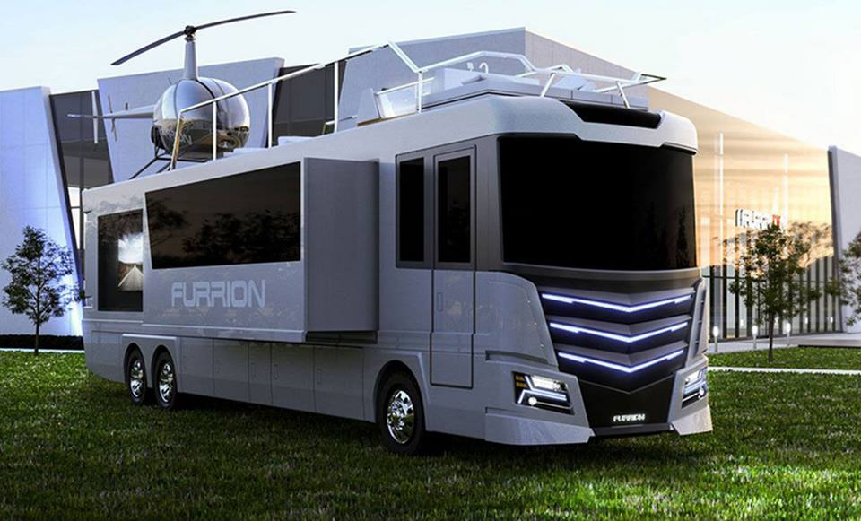 drool worthy 2017 luxury rv design shows latest in travel technology