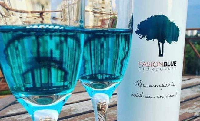 Blue Wine is Actually a 'Thing' And it's Going to Market in the Netherlands Now