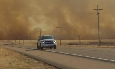 Texas Panhandle Wildfire Video Shows Wide Swath of Destruction About to Take Place