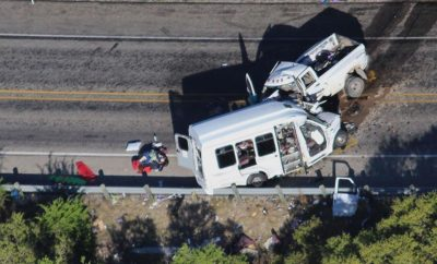 Witness of Deadly Bus Crash Releases Video of Pickup Truck Involved Taken Just Moments Prior