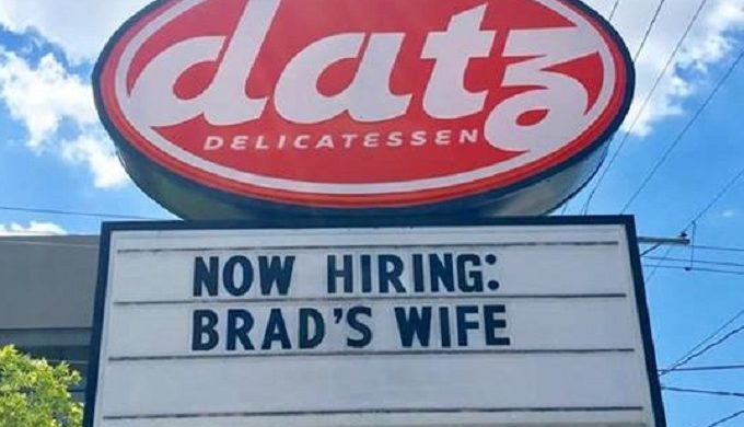 #Justiceforbradswife Has An Upside (And A Sense of Humor Apparently)