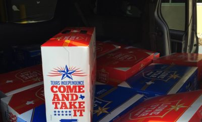 Lone Star Issues 'Come And Take It' Cans to Celebrate Texas Independence Day