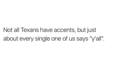 speak texan