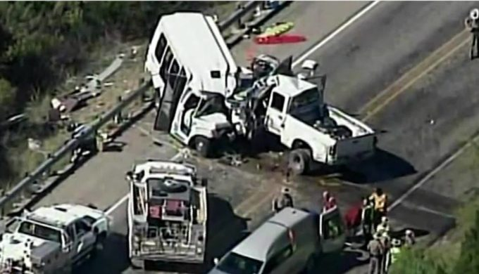 Thirteen Killed in First Baptist New Braunfels Church Bus Accident