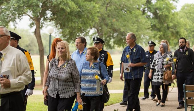 'Blue Angels of Texas': Supporting Families of First Responders