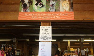 Austin Pets Alive Thrift