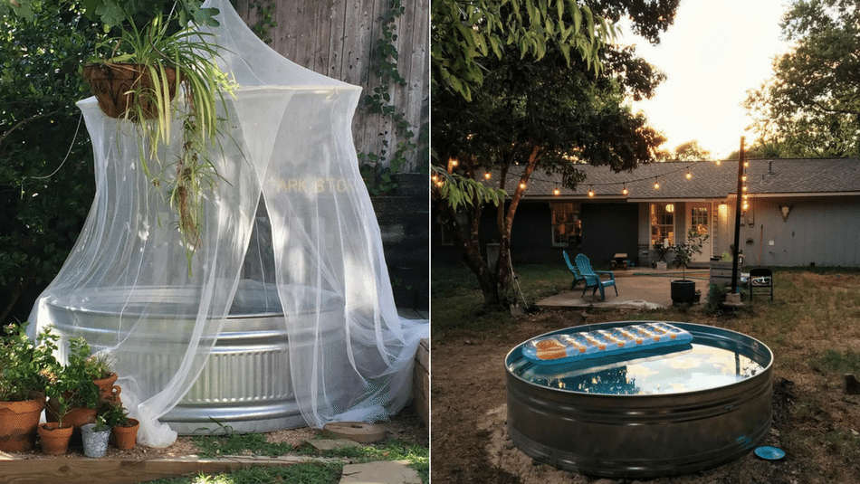 3 Winning Stock Tank Pool Designs You Can Use This Summer