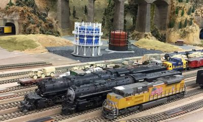 2,500 Square-Foot Model Train Layout Donated to Frisco Museum