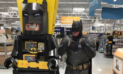 Suspected Fort Worth Shoplifter Gets Citation from Batman