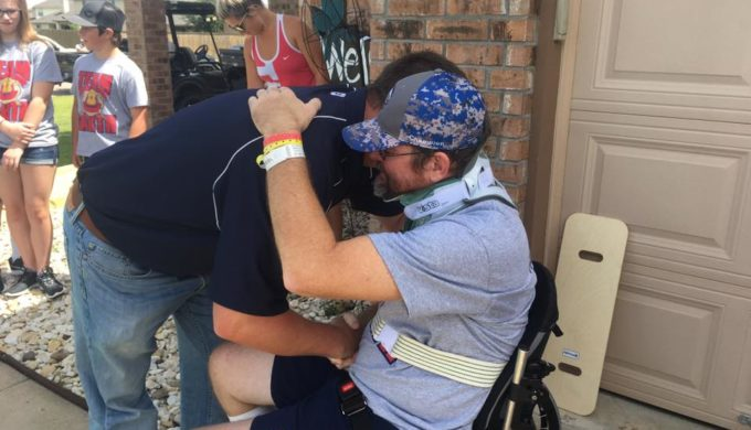 Chip & Joanna Gaines Join the Waco Community in Assisting a Paralyzed Firefighter