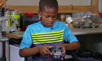 Young Texas Boy Invents Device That Could Put An End to Hot Car Deaths for Children