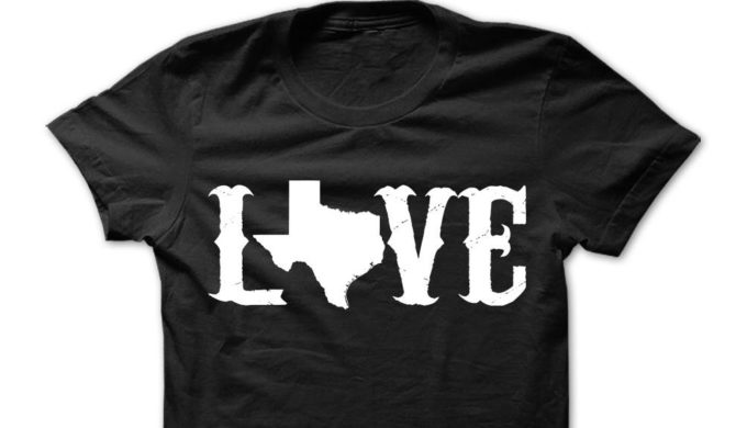Graphic Texas T-Shirts You'll Love for Warmer Weather