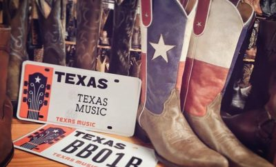 Texas Music License Plates Benefit an Extremely Worthy Cause