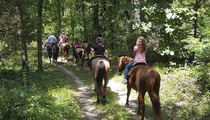 Horseback Riding at Cedar Cove Ranch