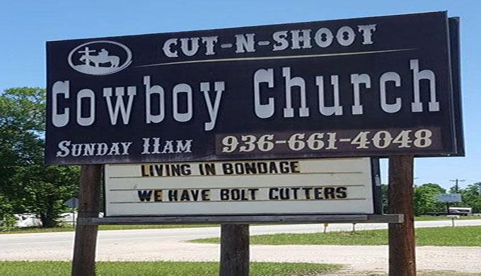 Cut and Shoot Cowboy Church