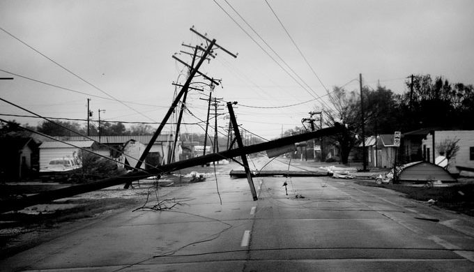 Magnum Photos-2005 Damage from Hurricane Rita
