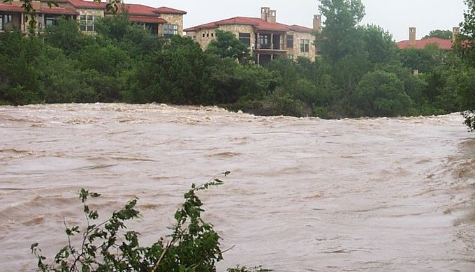 2007 Flooding Near Georgetown, Texas