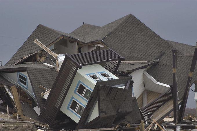 2008 Damage from Hurricane Ike