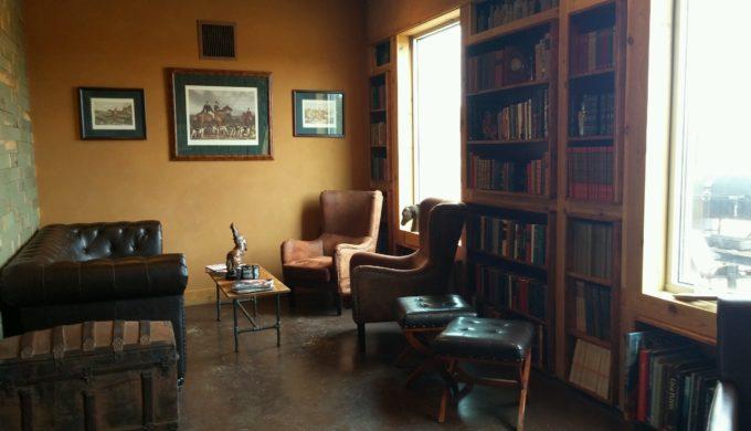 Small room to savor