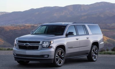 Chevrolet Asks Texans to Name Suburban the National Vehicle of Texas