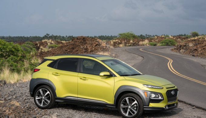 2020 Hyundai Kona sideview