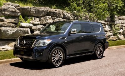 2020 Nissan Armada Platinum is Perfect for Your Next Family Vacation