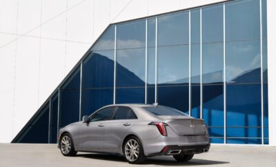 2021 Cadillac CT 4 Premium Luxury: Whisper Quiet
