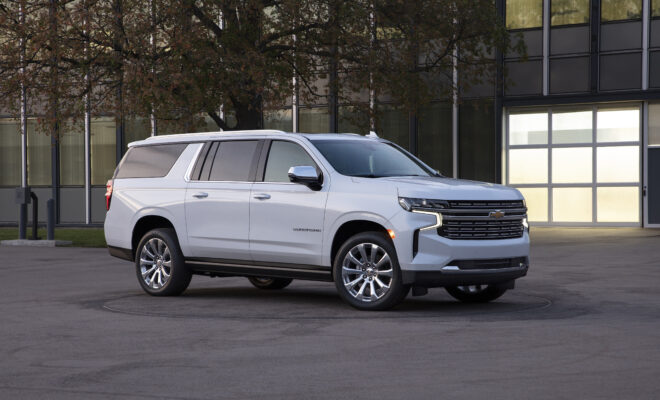 Chevrolet Suburban is the Hottest New Hollywood Celebrity