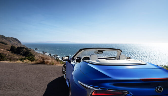 2021 Lexus LC 500 Convertible: Power and Comfort