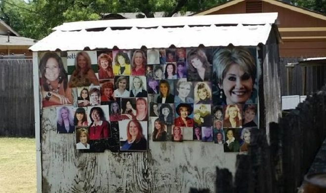 'Creepy' Texas Shed Collage Scared the Local Realtors Away