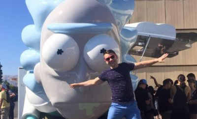 Wubba Lubba Dub Dub! RickMobile is Moving Down Texas Highways