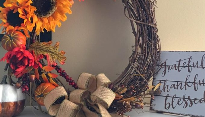 Easy, DIY Fall Wreaths: Bringing Autumn's Bursting Color to Your Door