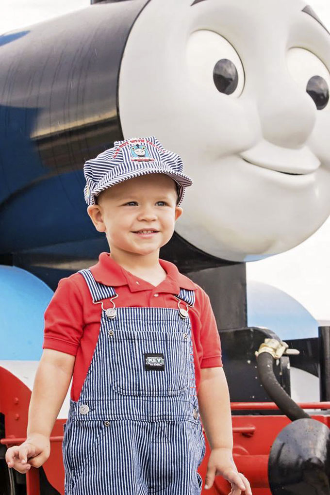 Little boy at Day out with Thomas