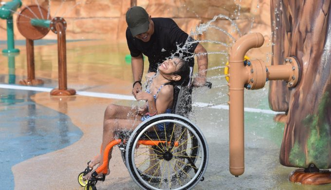 Morgan's Inspiration Island is the Water Park Built for Special Needs With Everyone In Mind
