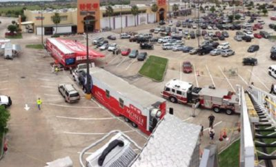 H-E-B Disaster Relief Convoy Rolls Out to Help Harvey Victims