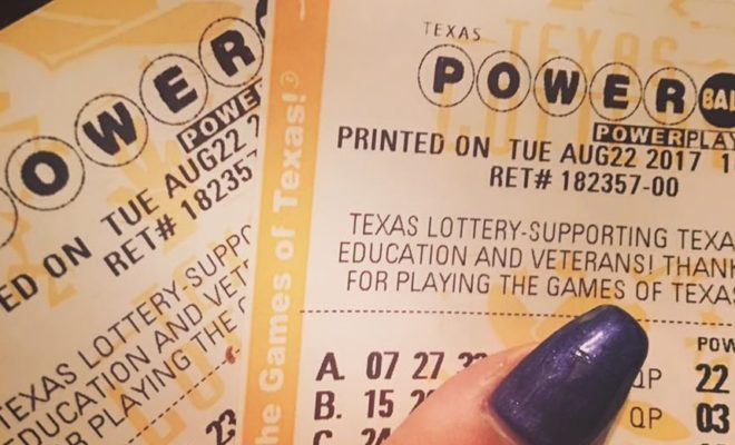 1 Million Winning Texas Lottery Powerball Ticket Sold In Houston