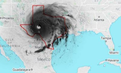 Hurricane Irma: Larger Than Texas & Registering on Earthquake Scales