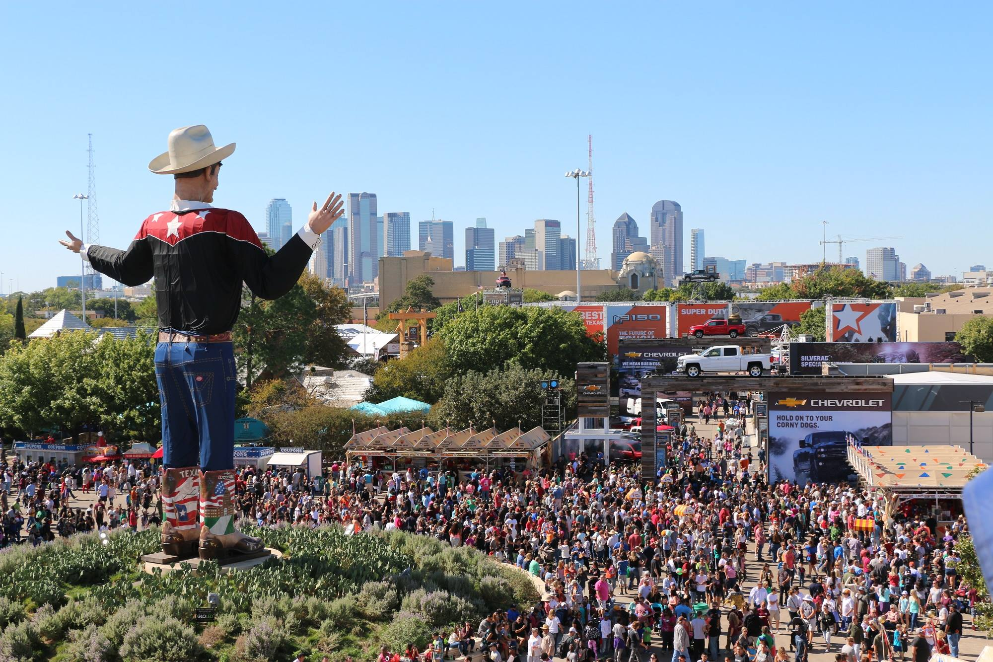 State fair of texas dates in Sydney