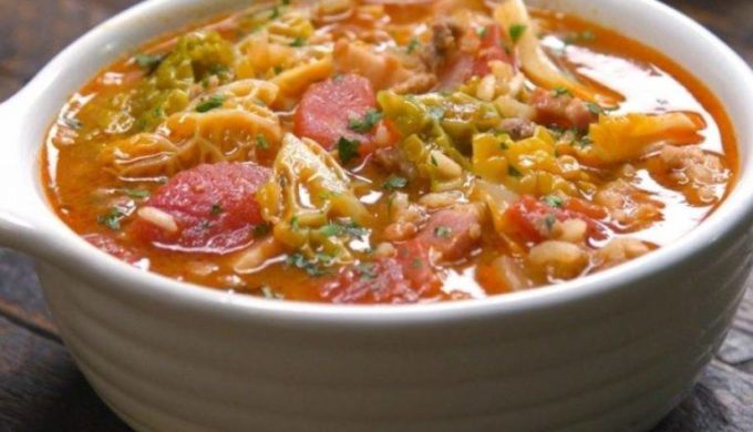 Cabbage Roll Soup: Hearty, Healthy Fall Time Comfort Food