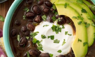 Black Bean Soup: Warm Up with a Fall-Time Classic