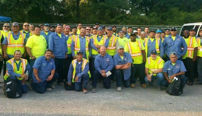 Attitude of Gratitude: San Antonio Waste Crew Thanks Harvey Victims in Kingwood